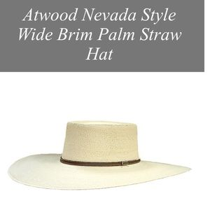 Atwood Other - Atwood Nevada style hat